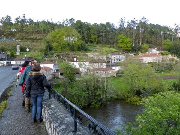 Na ponte de Portomouro
